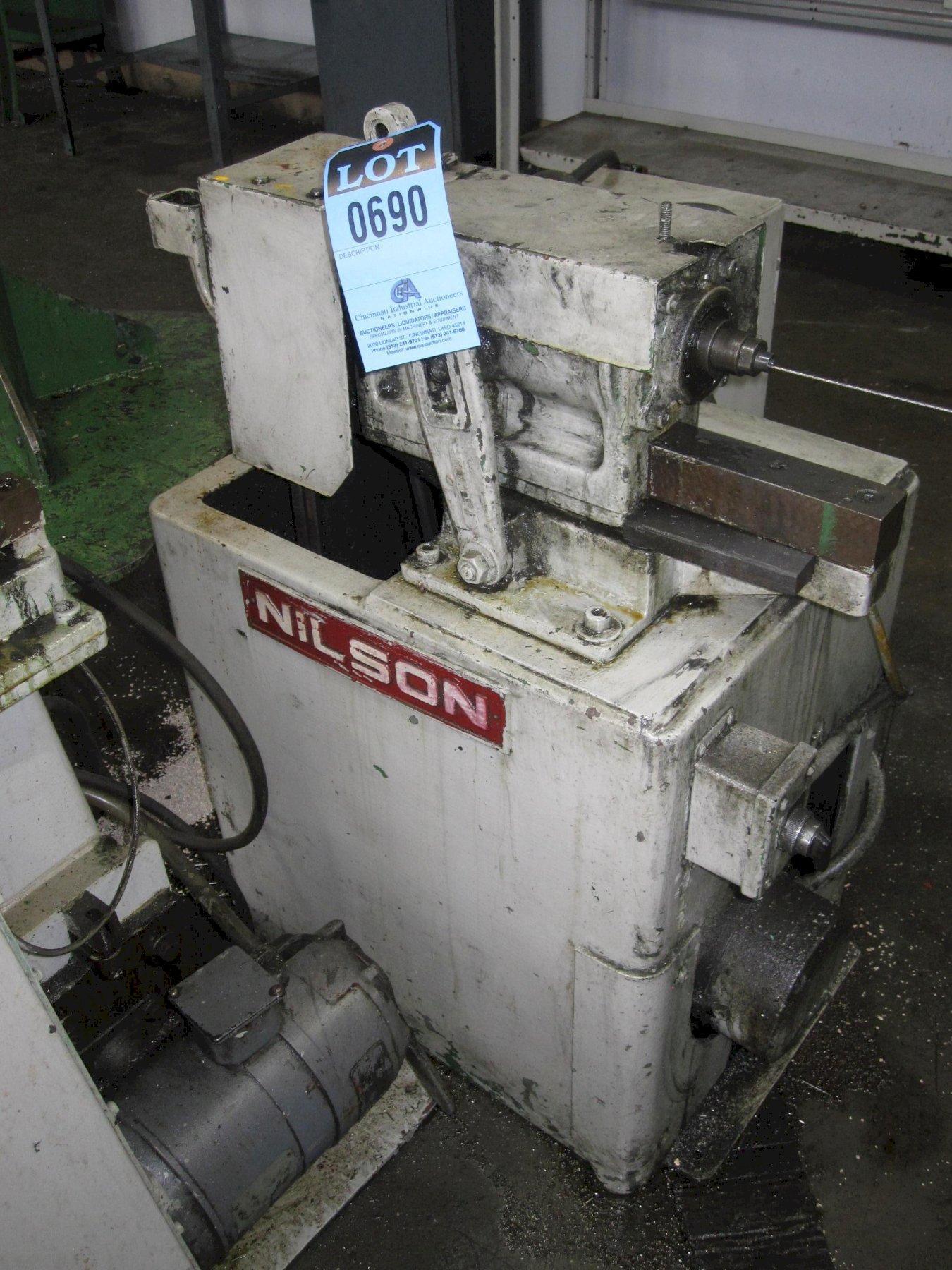 Nilson型号3旋转杆矫直机