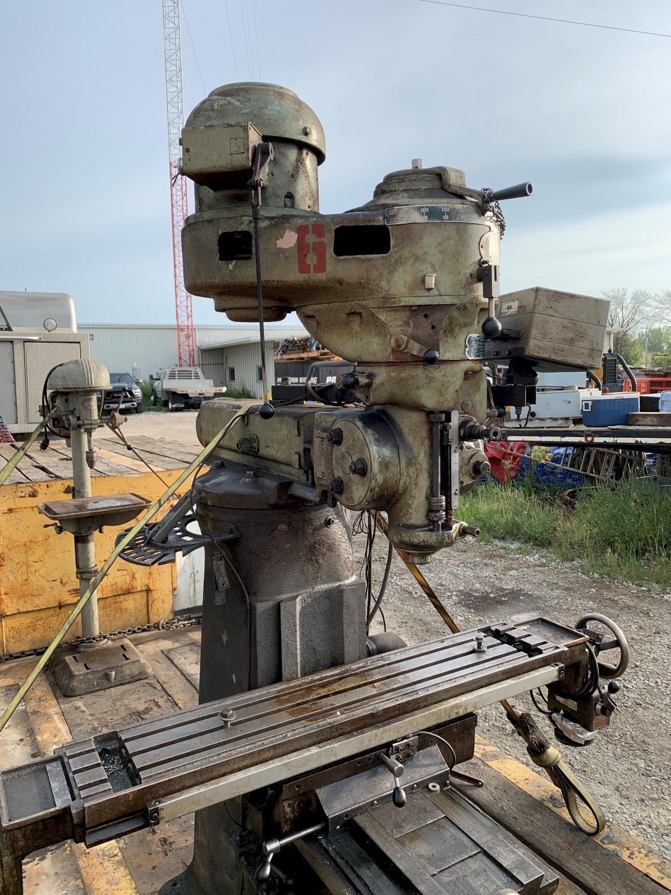 1 -旧井指数立磨机,型号:747,s / n: 17870