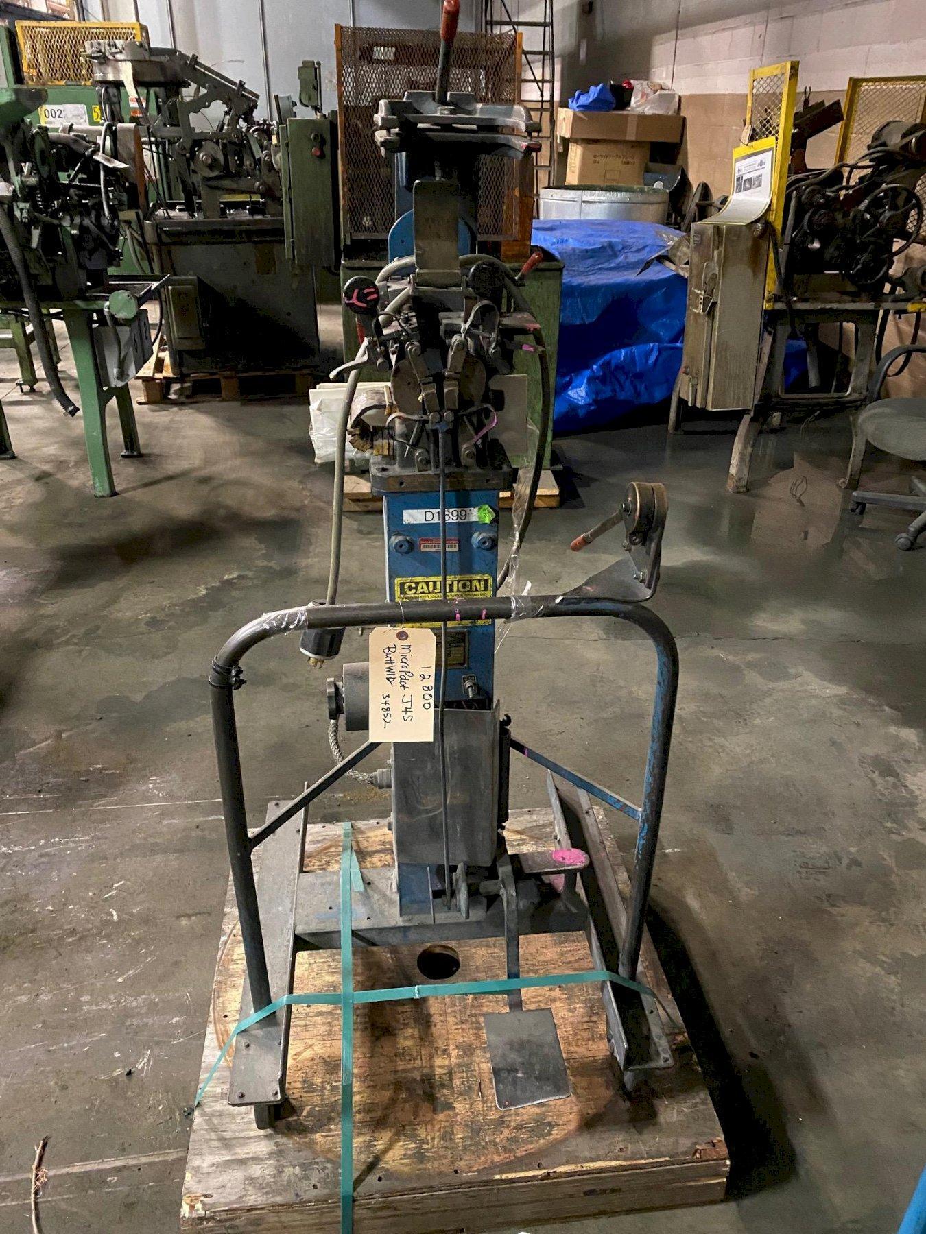 微型产品型号J4S对接焊机