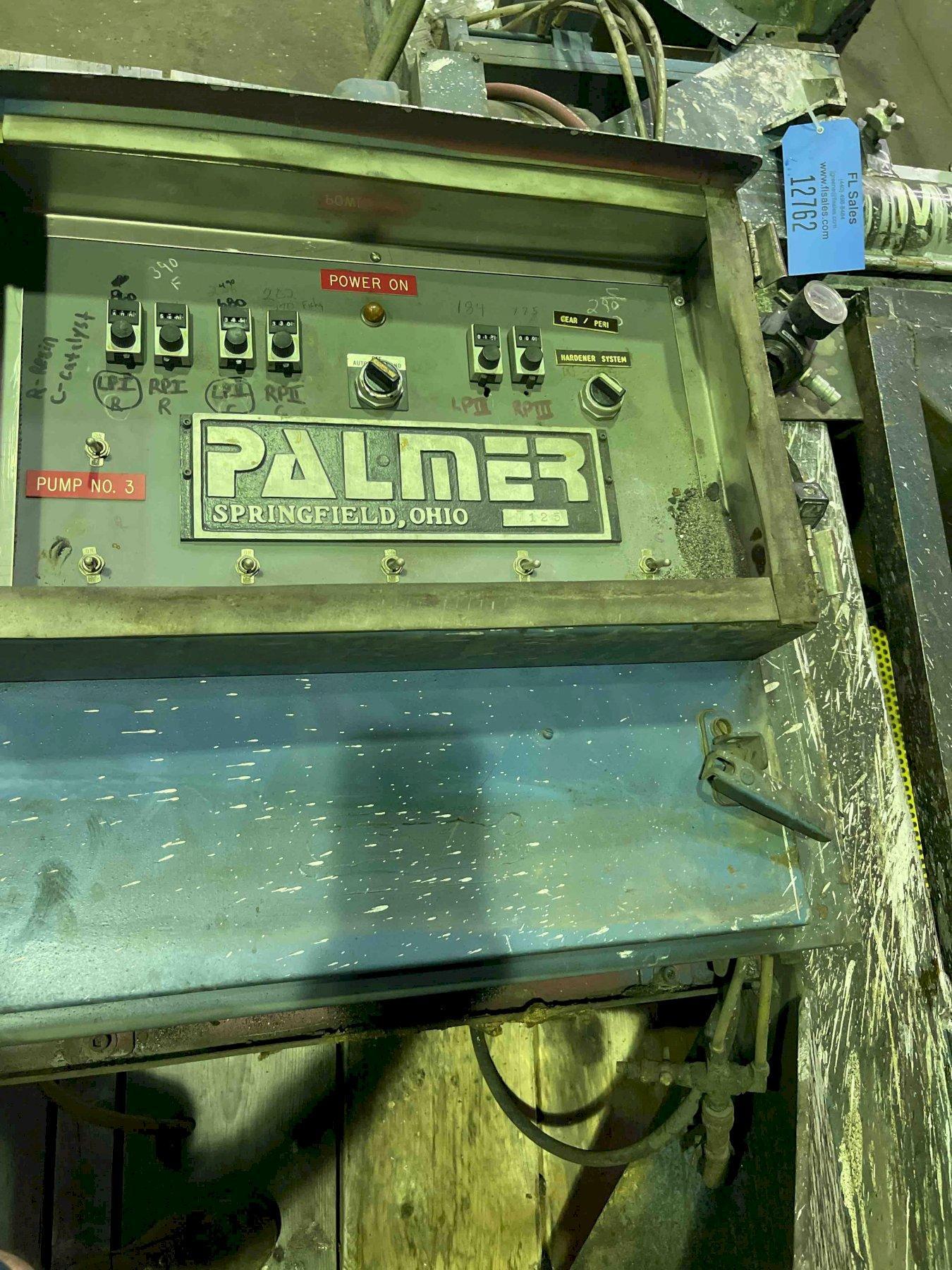 帕尔默m50型50#每分钟混合器s/n m125带泵,3台泵