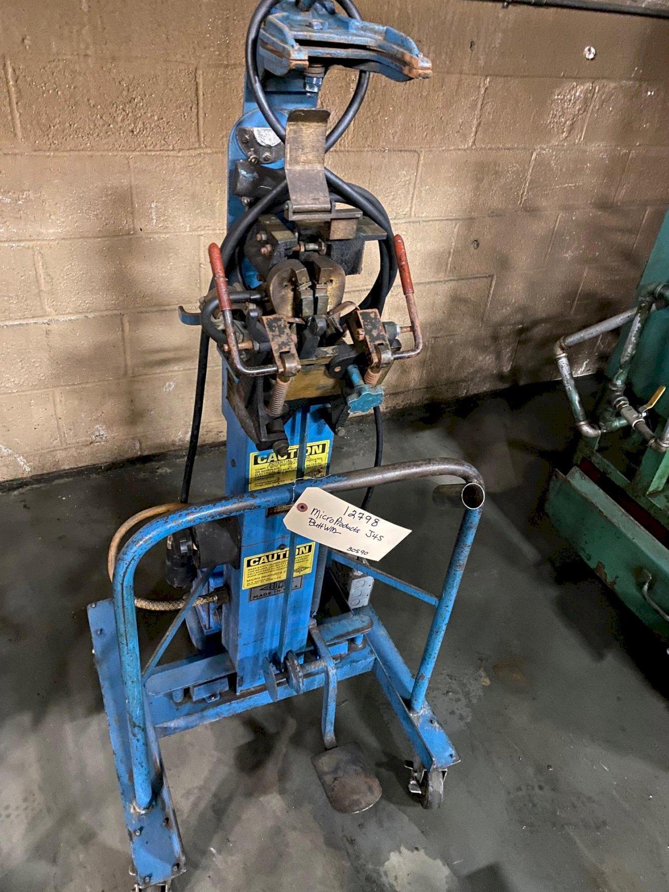微产品型号J4S对焊机