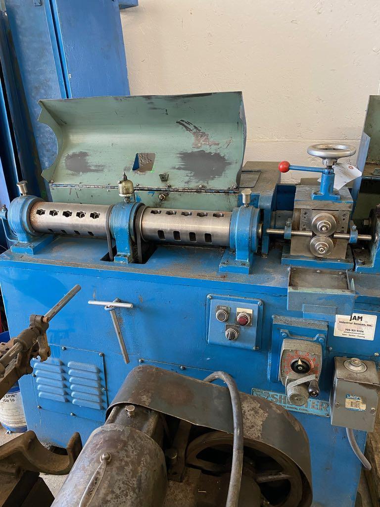 """3/16""""舒斯特型号400V线材矫直和切割机"""