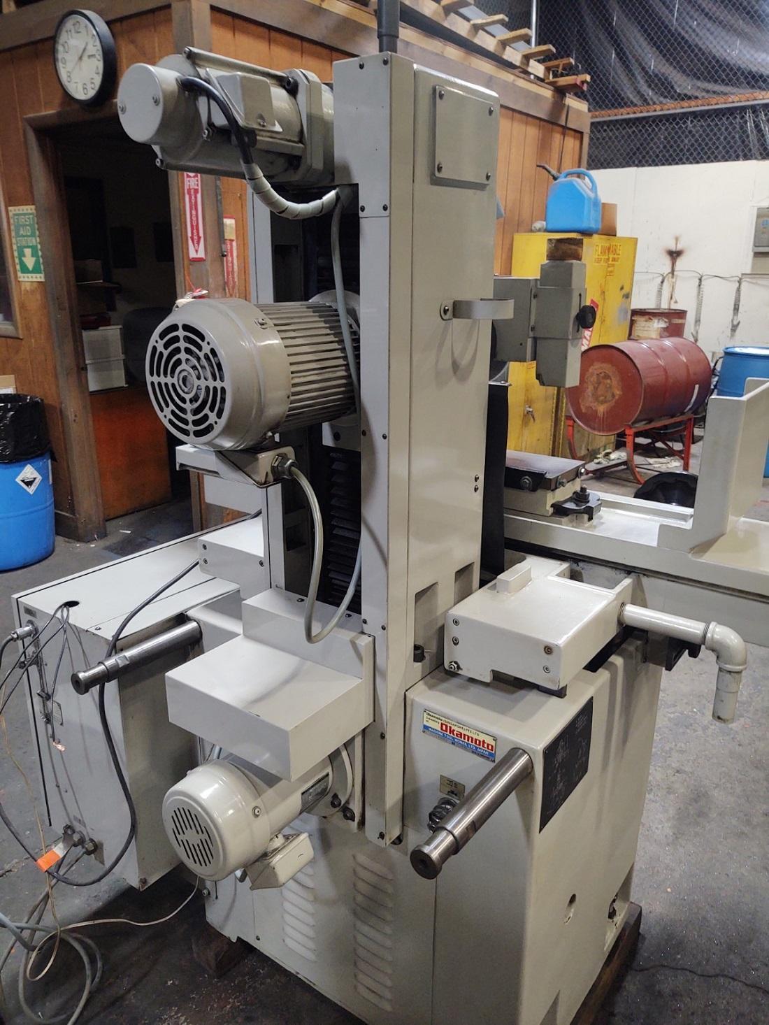 冈本3轴全自动液压平面磨床型号ACC 6-18DX3