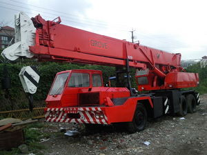 GROVE TMS635 Mobile Cranes - MachineTools.com