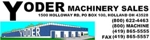 Yoder Machinery Logo - MachineTools.com