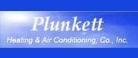 Website for Plunkett Heating & Air Conditioning