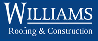 Website for Williams Roofing & Construction Co., Inc.