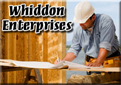 Website for Whiddon Enterprises
