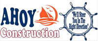 Website for Ahoy Construction, Inc.