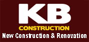 Website for KB Construction and Home Improvements