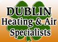 Website for Dublin Heating & Air Specialists, LLC