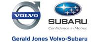 Website for Gerald Jones Subaru/Volvo