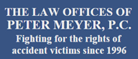 Website for Law Offices of Peter Meyer P.C.