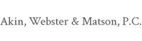 Website for Akin, Webster & Matson, P.C.