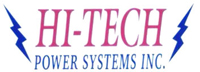 Website for Hi-Tech Power Systems, Inc.