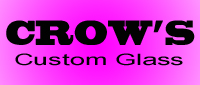Website for Crow's Custom Glass