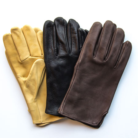 Check out these Deerskin Gloves made in Centralia, WA by Geier Glove Co. Purchase these stylish leather slip-ons and support 18 American workers. Gets you 641 Boom™ Points.