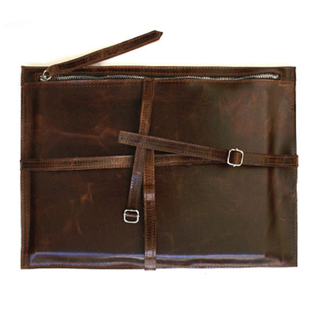 Travertine Book Strap, made in NY and CA by Khoi Le. Purchase to support 3 American workers and get 2,772 Boom™ Points. #MadeInUSA #BackToSchool