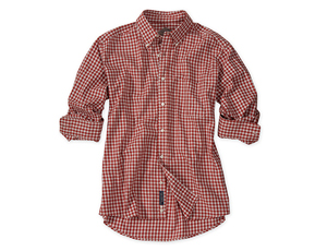 Heathered Gingham Shirt