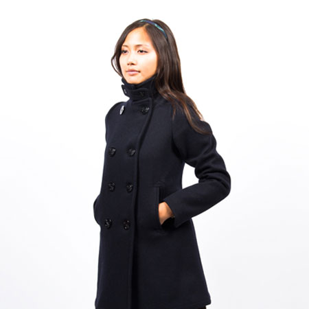 Long Womens Pea Coat