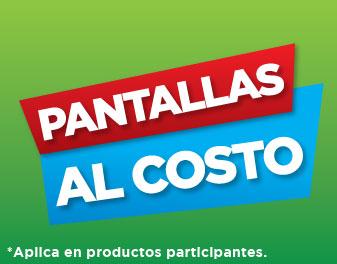 PANTALLAS AL COSTO