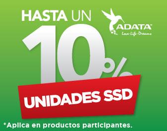HASTA 10% EN UNIDADES SSD