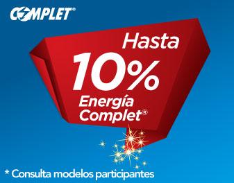 HASTA 10% EN ENERGÍA COMPLET