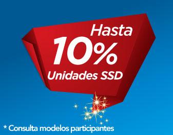 HASTA 10% EN SSD