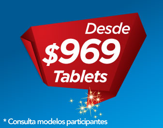 TABLETS DESDE $969