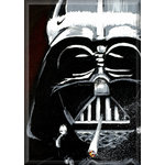 Vader Darth Dooby, Star Wars Street Canvas Art by Syd TV - print