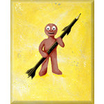 Morpheus HB Bomb, Street Graffiti Art Canvas by Syd TV - print