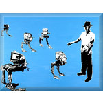 Battery Farming Star Wars, Street Art Prints by Syd TV - print