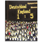 England 5 Germany 1 Iconic Football Canvas Picture