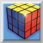 Rubiks Cube Canvas Art Picture by See More - print