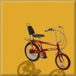 Raleigh Chopper Retro Canvas Art Picture.