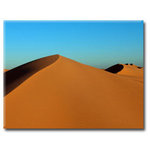 Sand Dunes, Brown Canvas Art Picture by Miles Hunter - print