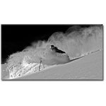 Slow Motion Ski Snow Canvas Art Picture by Jonathan Griffith - print
