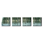Woodland Four Piece Canvas Art Picture by Luke Hollingworth - print
