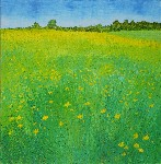 Buttercup Field - That happy feeling by Anonymous - print