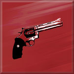 Magnum Gun Dirty Harry Canvas Art Picture by See More - print