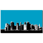 New York Blue, Canvas Art Picture