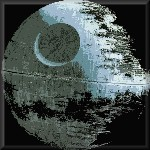 Death Star Canvas Art Star Wars Picture by See More - print