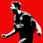 Steven Gerrard Liverpool Handsprayed Canvas Art Picture
