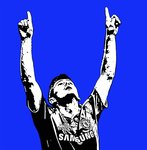 Frank Lampard Chelsea Handsprayed Canvas Art Picture by Art By People - print