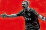 Paul Scholes MKII Manchester United Handsprayed Canvas Art by Art By People - print