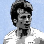 David Silva Manchester City Handsprayed Canvas Art by Art ByPeople - print
