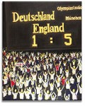 English Joy Original Hand Painted Football Canvas by Luke Hollingworth - print