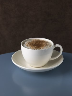 Fine Art Print of Close-up of cappuchino by Assaf Frank