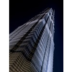 Jin Mao Tower Close-up Poster Art Print by Assaf Frank