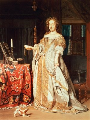 Fine Art Print of Portrait of a Lady by Gabriel Metsu